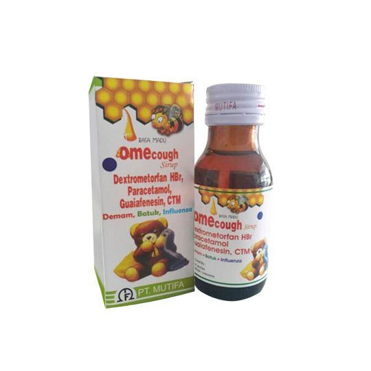 OMECOUGH MADU SIRUP 60 ML