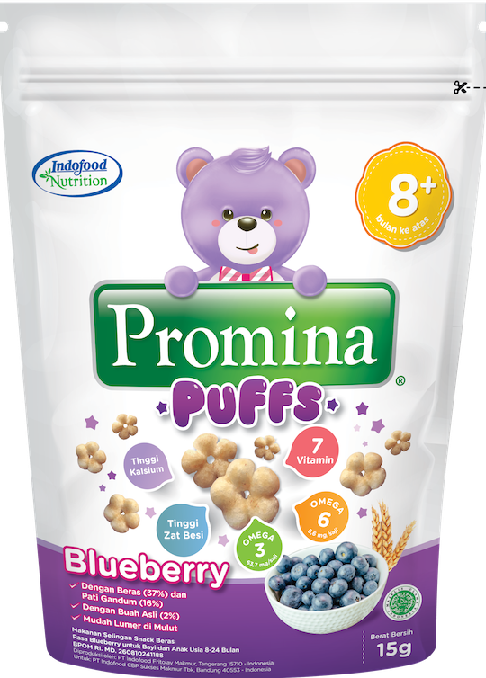 PROMINA PUFFS BLUEBERRY 15 G