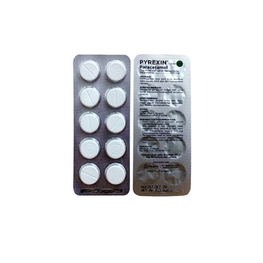 PYREXIN 500 MG 10 TABLET