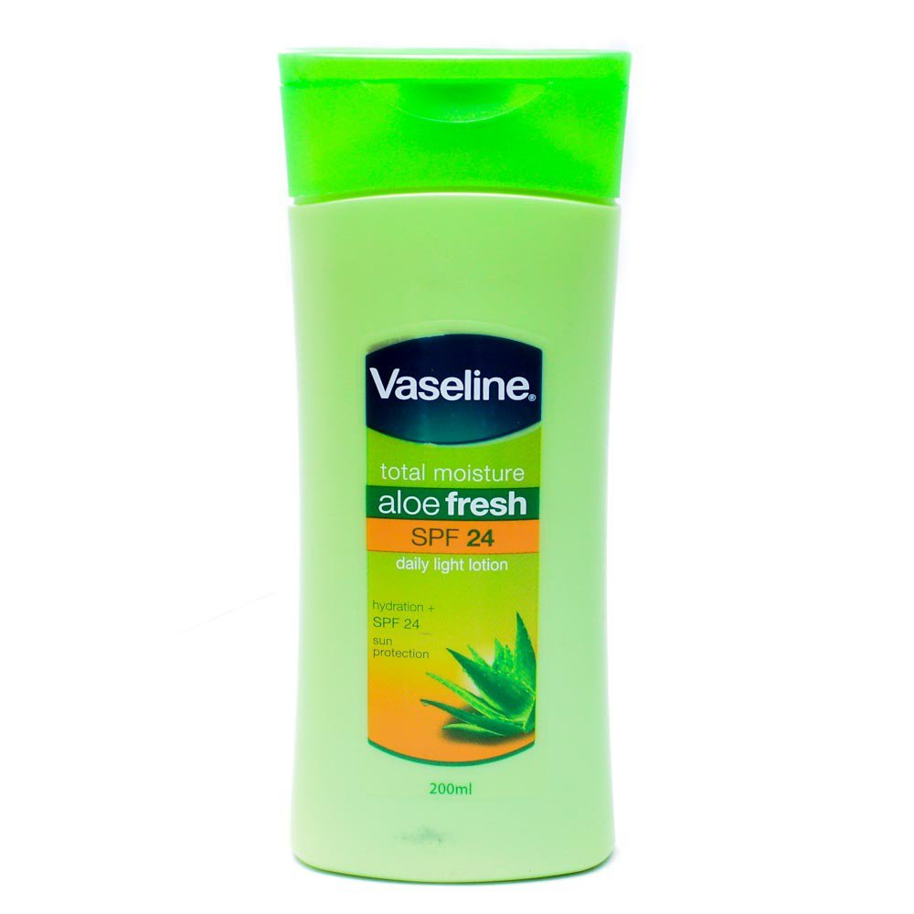 VASELINE HAND AND BODY LOTION ALOE FRESH 200 ML