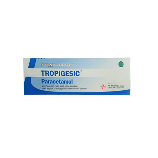 TROPIGESIC 500 MG 10 KAPLET