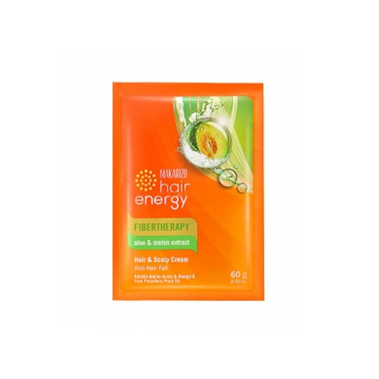 MAKARIZO HAIR ENERGY CONDITIONING SHAMPOO ALOE & MELON 60 GR