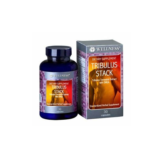 WELLNESS TRIBULUS STACK 30'S