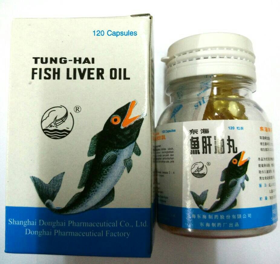 TUNG HAY FISH LIVER OIL 120 KAPSUL