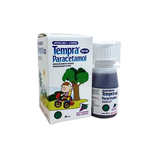 TEMPRA SIRUP 30 ML