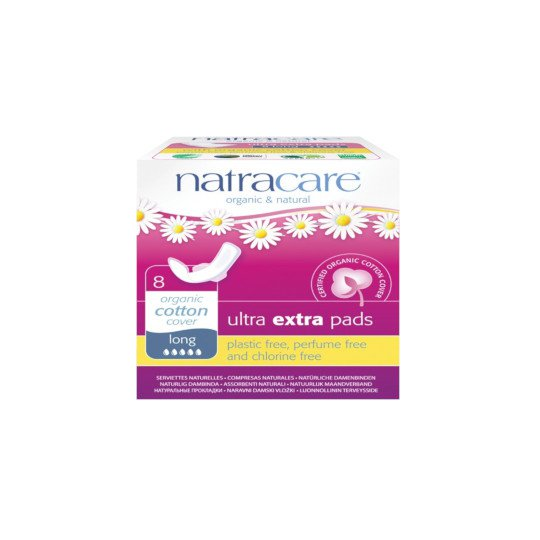NATRACARE ULTRA EXTRA LONG 8 PADS