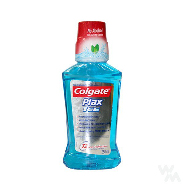 COLGATE MOUTH WASH ICE PLAX 250 ML