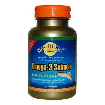 SYNPLUS SUPER OMEGA-3 SALMON OIL 100 TABLET