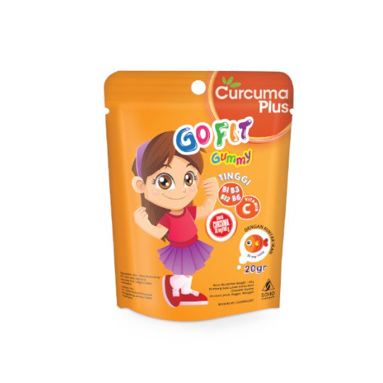 CURCUMA PLUS GO FIT GUMMY 20 G