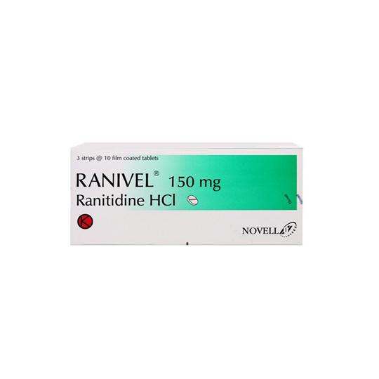 RANIVELL 150 MG 10 TABLET