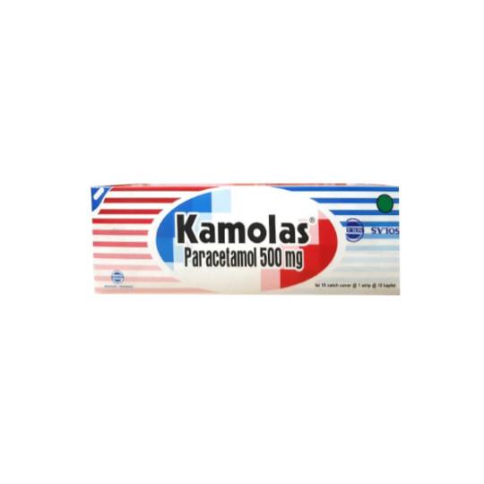 KAMOLAS 500 MG 10 KAPLET