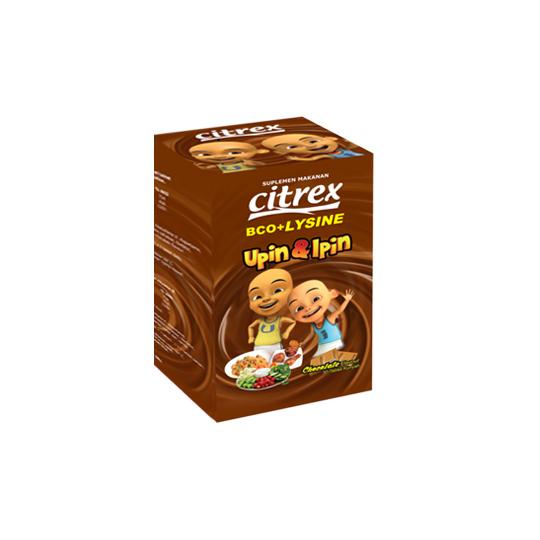 CITREX BCO + LYSINE COKLAT 30 TABLET