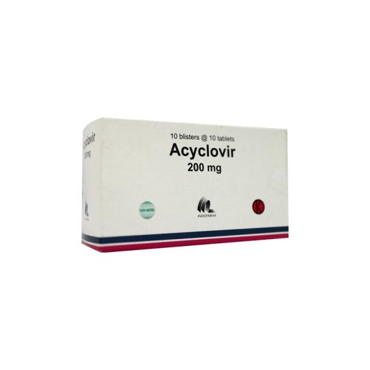 ACYCLOVIR 200 MG 10 TABLET
