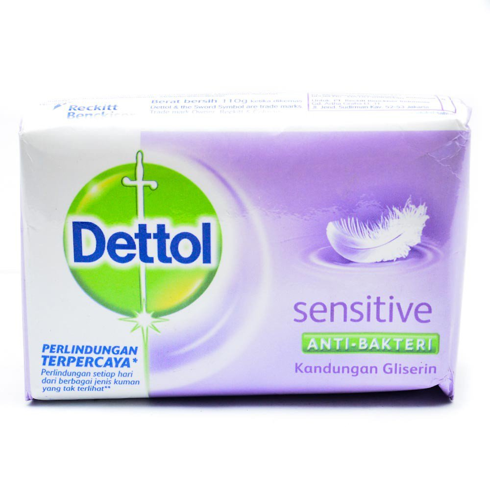 DETTOL SENSITIVE BAR 110 G