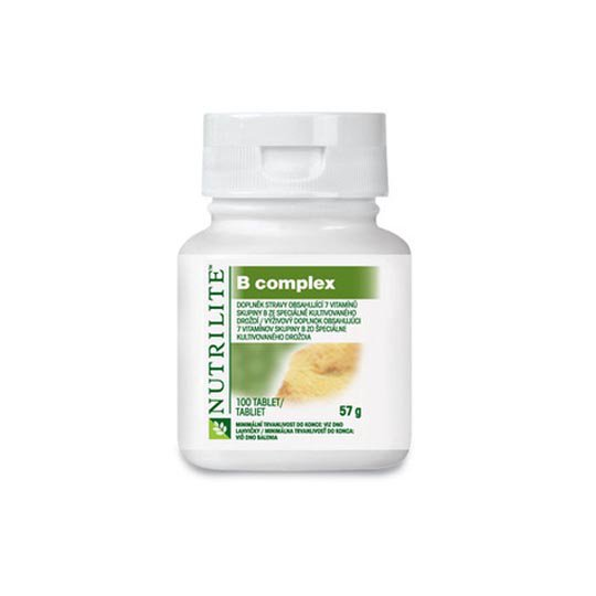 AMWAY NUTRILITE NATURAL B COMPLEX 100 TABLET