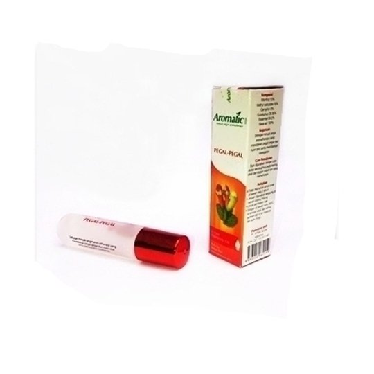 AROMATIC ROLL ON MINYAK ANGIN PEGAL-PEGAL 8 ML