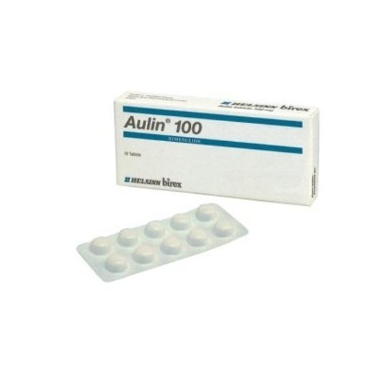 AULIN 100 MG 10 TABLET