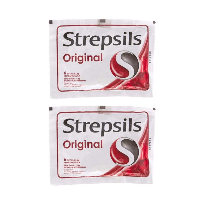 STREPSIL ORIGINAL 8 TABLET