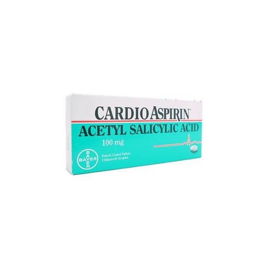 CARDIO ASPIRIN 100 MG 10 TABLET