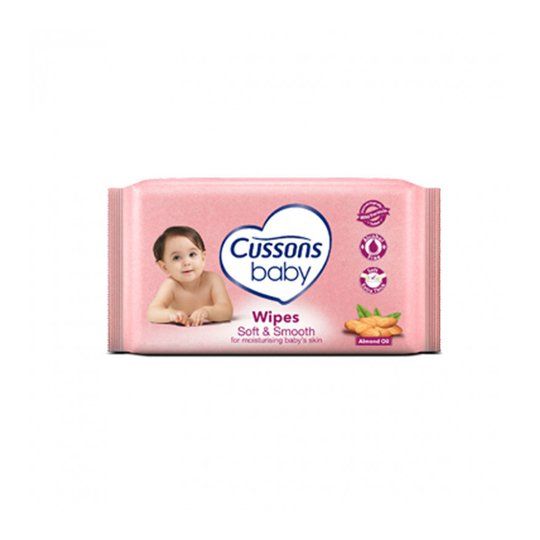 CUSSONS BABY WIPES SOFT & SMOOTH 50'S