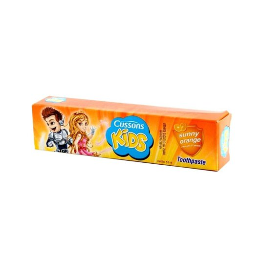 CUSSONS KIDS SUNNY ORANGE TOOTHPASTE 45G