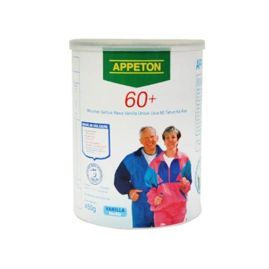 APPETON 60 PLUS RASA VANILLA 450 G