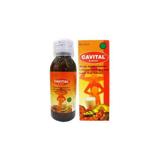 CAVITAL SIRUP 100 ML