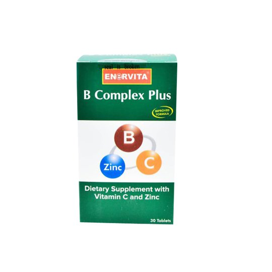 ENERVITA B COMPLEX PLUS 30 TABLET
