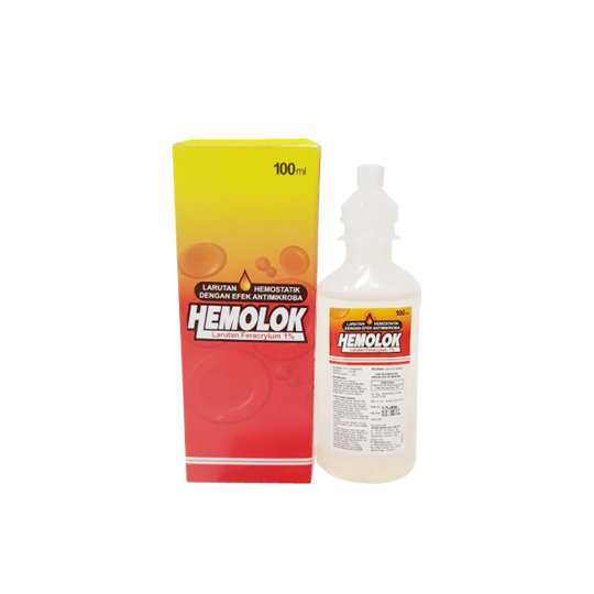 HEMOLOK ANTISEPTIK 100 ML