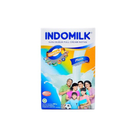INDOMILK FULL CREAM RASA PLAIN 800 GR