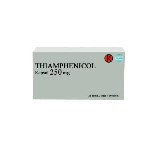THIAMPHENICOL 250 MG 10 KAPSUL