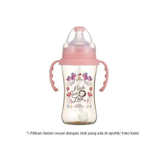 Simba Bottle Ppsu Wide Neck With Handle Dorothy Wonderland 270 ml