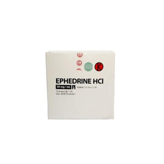 EPHEDRIN HCL INJEKSI