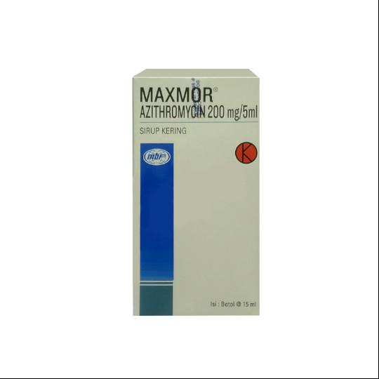 MAXMOR SIRUP 15 ML