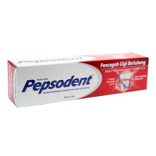PEPSODENT WHITE TOOTHPASTE 120 GR