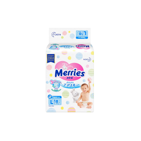 Merries Tape L 18 Pieces