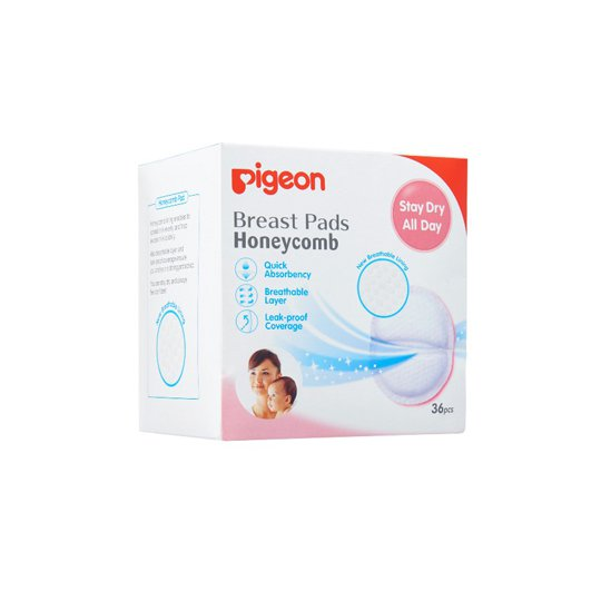 PIGEON BREAST PADS 36'S