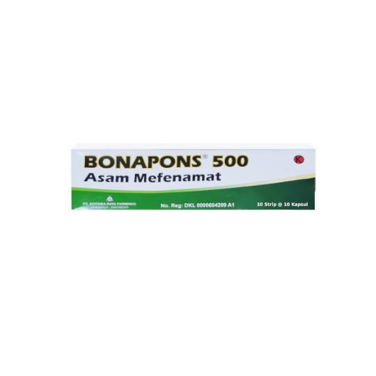 BONAPONS 500 MG 10 KAPLET