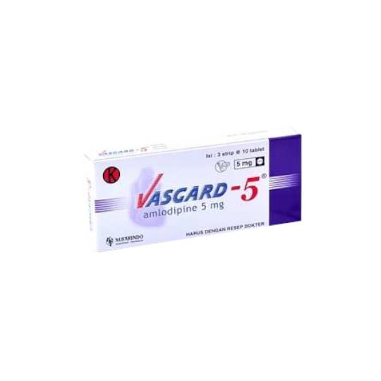 VASGARD 5 MG 10 TABLET