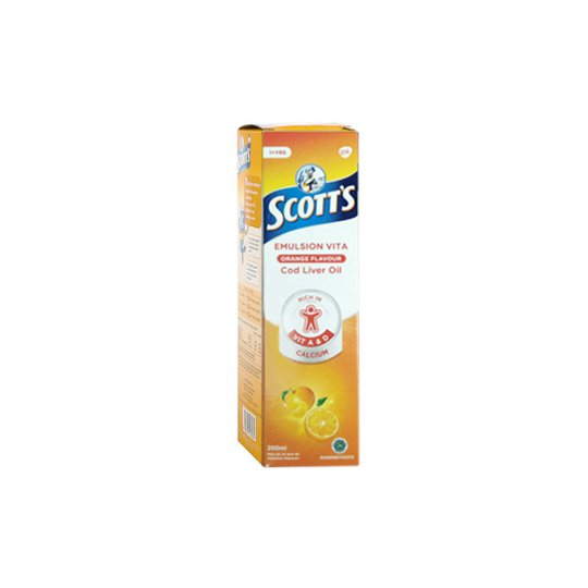 SCOTT'S EMULSION VITA ORANGE 200 ML
