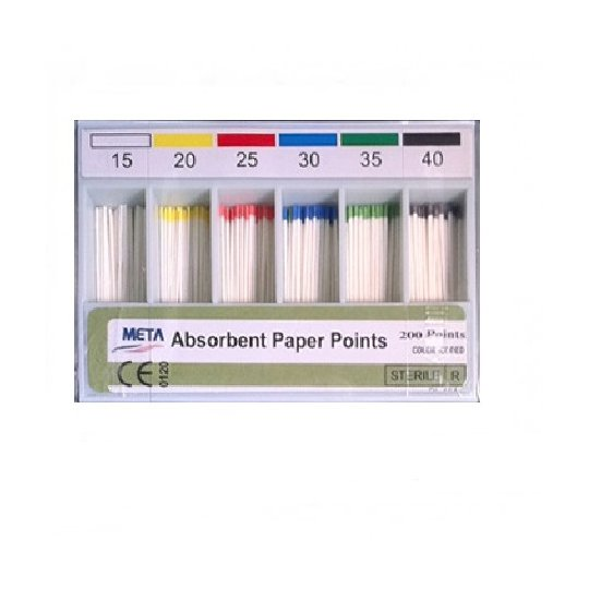 ABSORBENT PAPER POINT 200'S