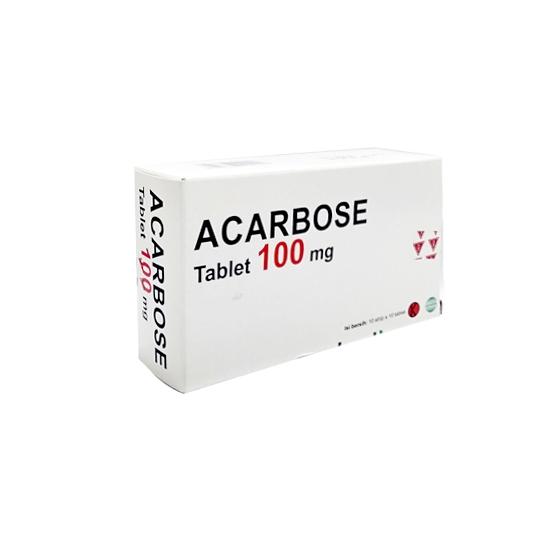 ACARBOSE 100 MG 10 TABLET