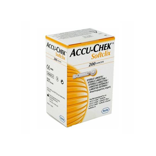 ACCU CHECK SOFTCLIX LANCETS 200'S