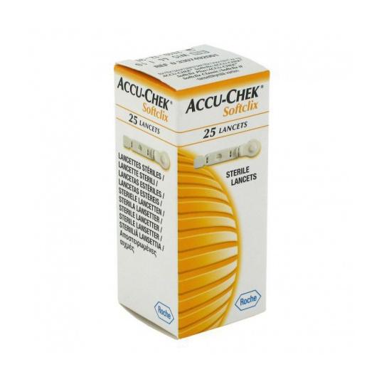 ACCU CHECK SOFTCLIX LANCETS 25'S