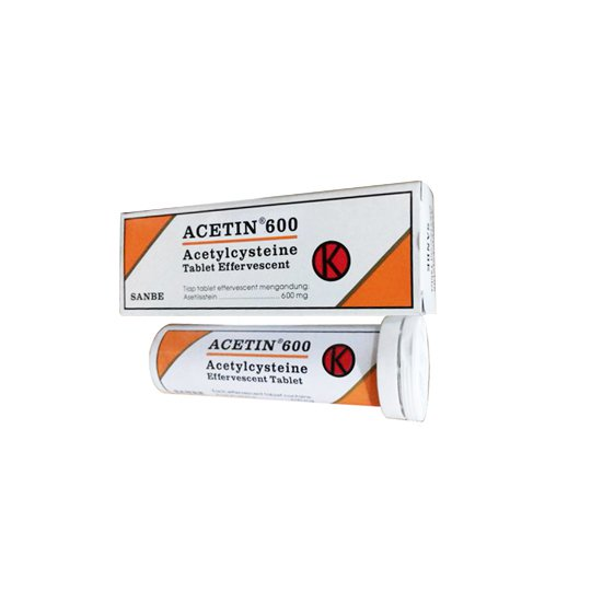 ACETIN 600 TABLET EFFERVESCENT