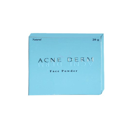 ACNEDERM FACE POWDER (NATURAL & SUNTAN) 20 G