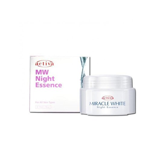 ACTIVA MIRACLE WHITE NIGHT ESSENCE 50 ML