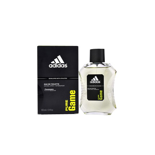 ADIDAS MEN PURE GAME EAU DE TOILETTE SPRAY 100 ML