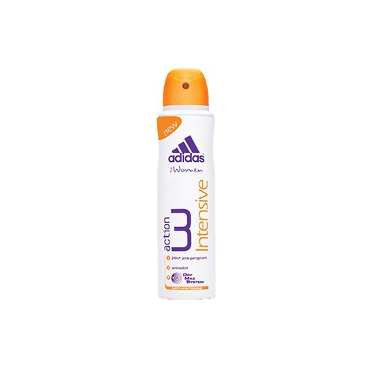 ADIDAS WOMEN ACTION 3 INTENSIVE DEO BODY SPRAY 150 ML