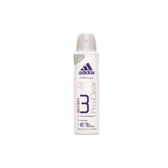 ADIDAS WOMEN ACTION 3 PRO CLEAR DEO BODY SPRAY 150 ML